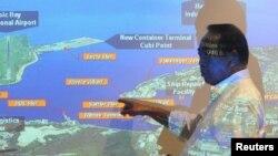 菲律賓蘇比克灣曾是美國海軍的一個主要軍港。圖為其地理位置。