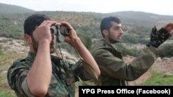 Pejuang YPG di Afrin (Foto: dok).