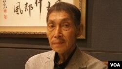 研究中國和台灣的共同社客員論說委員岡田充資料照