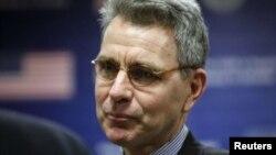 FILE - U.S. Ambassador to Ukraine Geoffrey Pyatt.