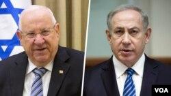 بنیامین نتانیاهو و روون ریولین