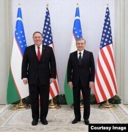 AQSh Davlat kotibi Mayk Pompeo shu yilning 3-fevralida Toshkentda Prezident Shavkat Mirziyoyev bilan uchrashgan edi