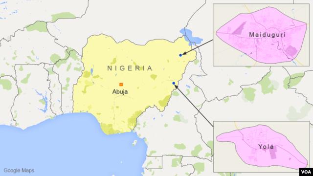 Yola and Maiduguri, Nigeria