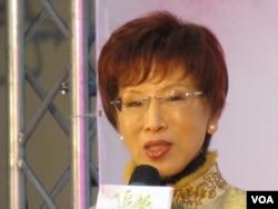 台湾立法院副院长 洪秀柱(美国之音张永泰拍摄)
