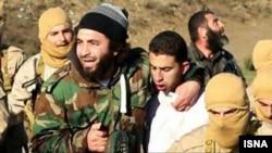 معاذ الکساسبه اندکی پس از افتادن به دست نیروهای داعش