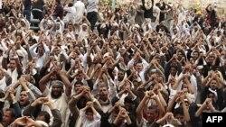 Từ tháng giêng tới nay, hàng vạn người Yemen đã xuống đường đòi chấm dứt quyền cai trị độc đoán của Tổng thống Ali Abdullah Saleh