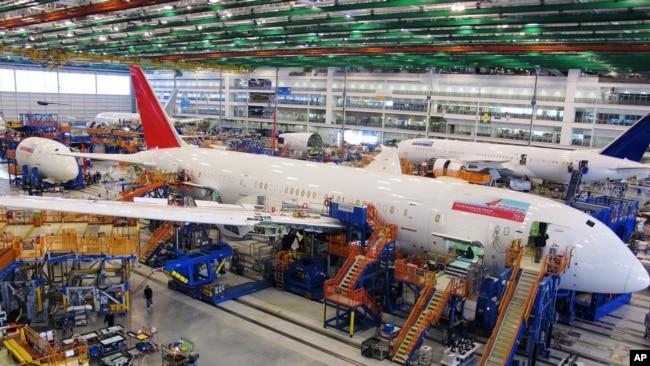 Resultado de imagen de trabajadores de Boeing