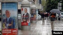 Predizborni posteri u Crnoj Gori