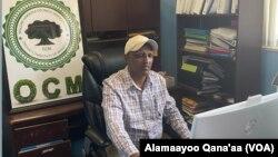 Daarektarii Waldaa Hawaasa Oromoo Minesootaa obbo Jamaal Galatoo
