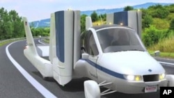 Terrafugia's experimental concept vehicle called the 'Transition'