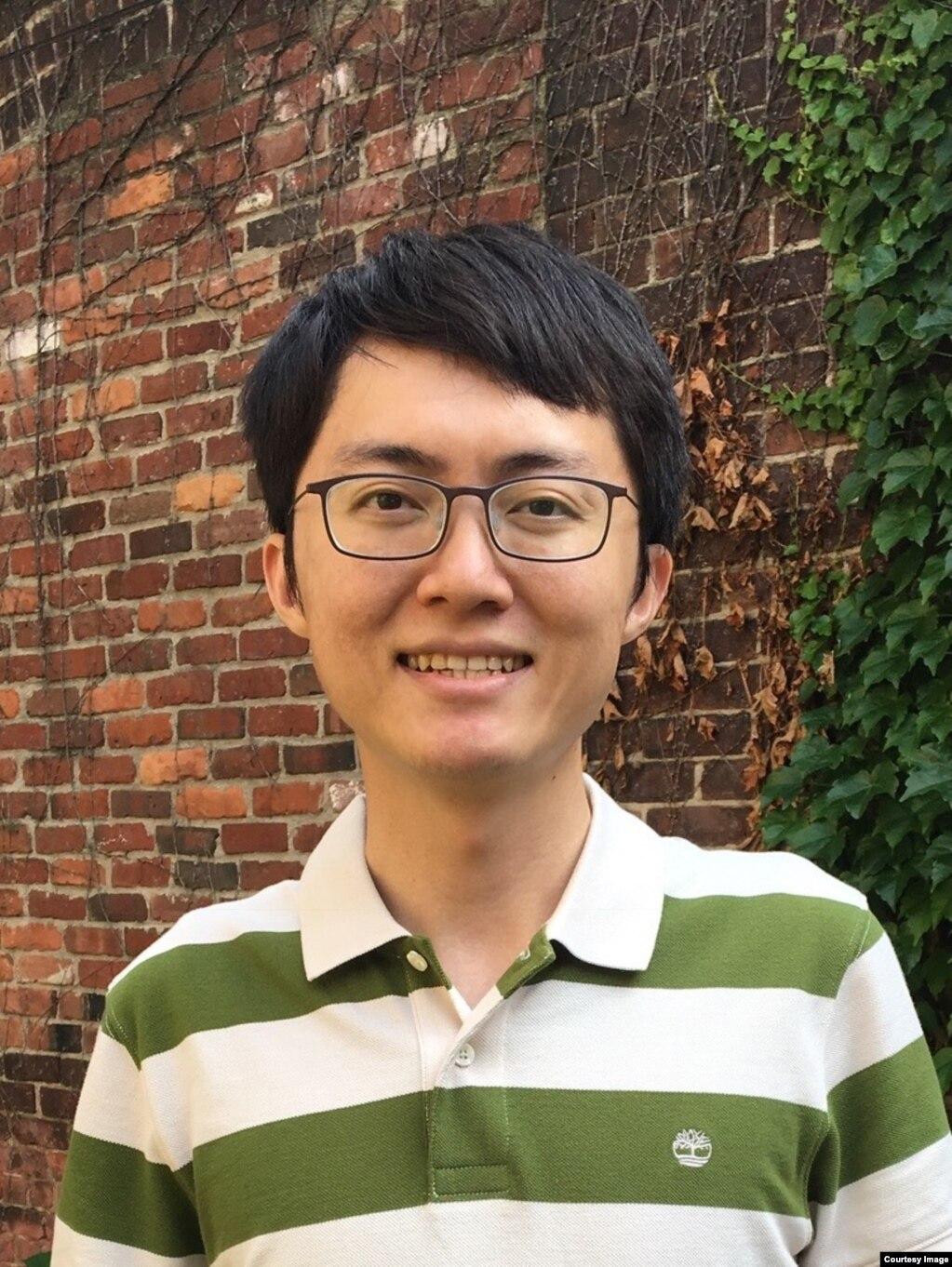 台湾政治大学国家发展研究所助理教授黄兆年(photo:VOA)