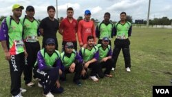 Five Afghan cricketers played in the tournament for the Florida-based club Kendall Stars