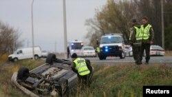 魁北克省警方调查10月20日翻车事件