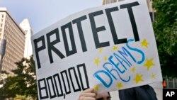 Tuần hành ủng hộ chương trình DACA ở Los Angeles, ngày 1/9/17