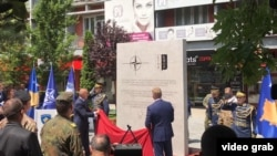 Otkrivanje spomenika vojnicima KFOR-a