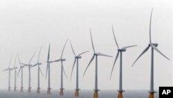 انگلینڈ میں تھانیٹ کے مقام پر ہوا سے چلنے والا دنیا کا سب سے بڑا بجلی گھر