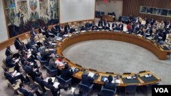 Situasi sidang di kantor Dewan Keamanan PBB, New York (Foto: dok)