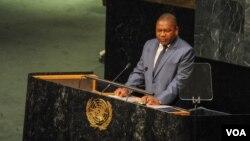 Filipe Nyusi nas Nações Unidas