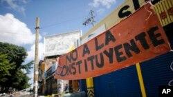 EE.UU. anunciará este lunes más sanciones a Venezuela tras la elección de la Asamblea Constituyente.