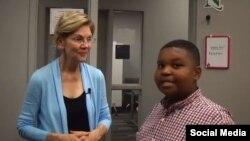 جیدن جفرسون، خبرنگار یازده ساله ای که با نامزدهای دموکرات ریاست جمهوری آمریکا مصاحبه کرد