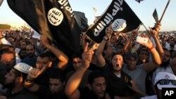 Nhà nước Hồi giáo cũng huy động sự hỗ trợ của những người ủng hộ trên mạng truyền thông xã hội.
