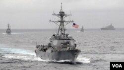 Američki razarač Lasen u Južnom kineskom moru