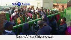 VOA60 Africa - South Africa's Ruling Party Faces Stiff Challenge