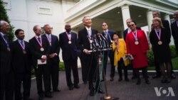 奥巴马授予两位华裔科学家最高荣誉