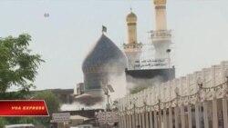 Đánh bom đền thờ Hồi giáo Shia ở Iraq, 35 người thiệt mạng