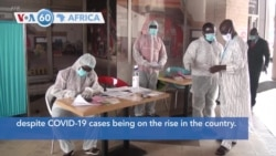 VOA60 Africa - Cameroon: The Archdiocese of Douala starts the deconfinement despite COVID-19 cases being on the rise