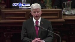 VOA60 America - Michigan Governor Apologizes to Flint, Promises Water Fixes