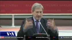 Komisioneri i BE-së Johannes Hahn për vizitë në Shkup