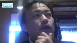 Японский журналист Цунеока по Skype о российских боевиках сирийской оппозиции