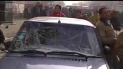 2014-01-14 美國之音視頻新聞: 埃及新憲法公投前發生爆炸事件