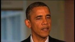 奧巴馬總統慰問槍擊案生還者和難屬