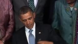 Başkan Obama'dan Kadınlara Destek