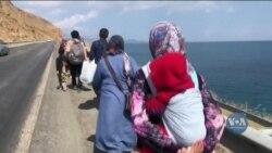 Пішки до Туреччини: як тисячі афганців наважилися на тривалу і небезпечну подорож. Відео