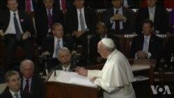 美议员:教宗演讲不是传递政治立场而是价值观