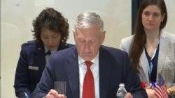 美防長:北韓採取廢核實際行動前制裁仍將繼續