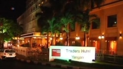 Bomb in Rangoon Hotel Injures American Tourist
