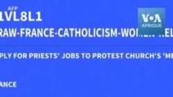Des femmes postulent symboliquement à des ministères dans l'Eglise catholique