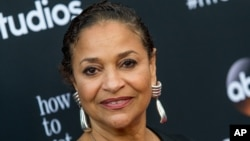 "FILE - In this May 28, 2015, file photo, Debbie Allen attends the ""How To Get Away With Murder"" ATAS Event at Sunset-Gower Studios, in Los Angeles."
