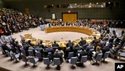 Le Conseil de sécurité de l'ONU le 26 février 2019.