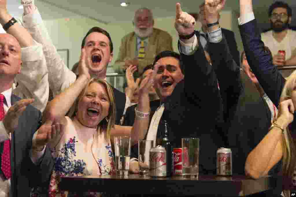 برطانیہ میں لوگوں کی اکثریت نے یورپی یونین سے علیحدگی کے حق میں ووٹ دیا ہے۔
