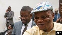 Jean-Marc Kabund azali kopesa mbote na basembeli ya UDPS na Cour constitutionnelle, Kinshasa, 19 2019
