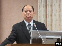 台灣國家安全局長楊國強(美國之音張永泰拍攝)