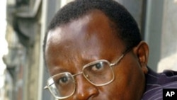 Congolese head of the Voix des Sans-Voix (Voice of the Voiceless) (VSV) party Floribert Chebeya (2005 file photo)