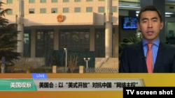 "VOA连线(许宁):美国会:以""美式开放""对抗中国""网络主权"""