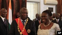 Mantan ibu negara Pantai Gading Simone Gbagbo adalah perempuan pertama yang didakwa oleh Mahkamah Kejahatan Internasional (foto: Dok).