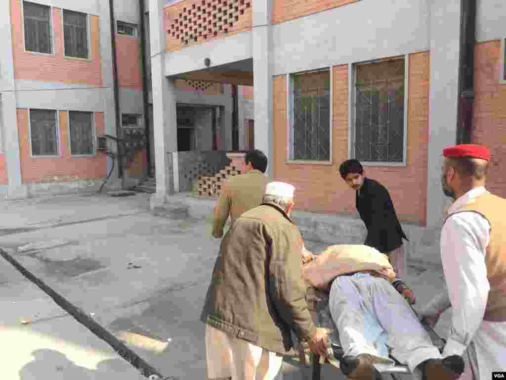 Pakistan attack at Bacha Khan University
